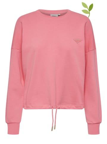 """ONLY Bluza """"Onlnubi Life"""" w kolorze różowym"""