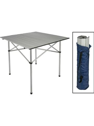 Profigarden Campingtafel zilverkleurig - (B)70 x (H)70 x (D)70 cm