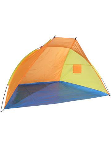 Profigarden Stranttent oranje/geel - (B)220 x (H)115 x (D)115 cm