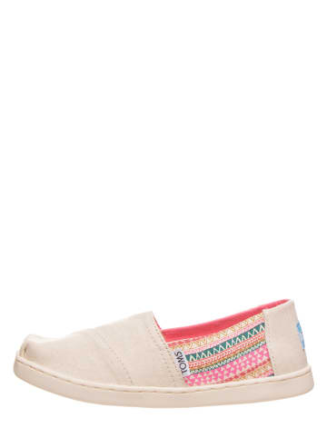 """TOMS Instappers """"Classic"""" beige"""