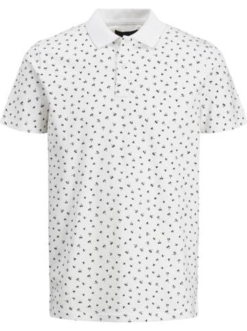 """Jack & Jones Koszulka polo """"MINIMAL"""" w kolorze białym"""