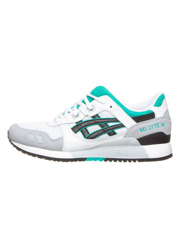 """Asics Sneakers """"Gel-Lyte III"""" wit/turquoise"""
