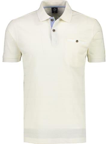 Lerros Poloshirt in Creme