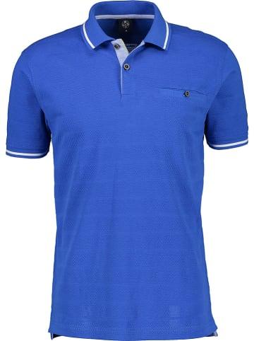 Lerros Poloshirt blauw