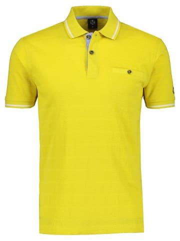 Lerros Koszulka polo w kolorze żółtym