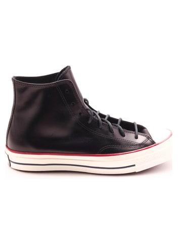 """Converse Skórzane sneakersy """"Chuck 70"""" w kolorze czarnym"""
