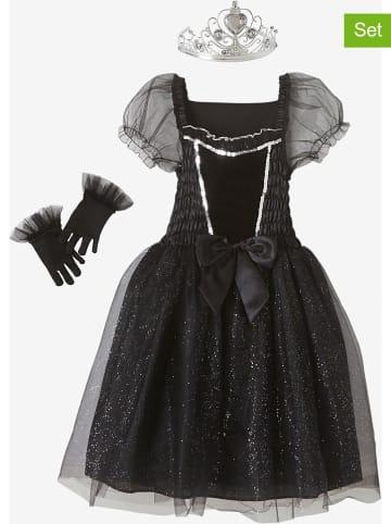 Vertbaudet 3-częściowy kostium w kolorze czarnym