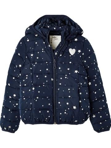 Vertbaudet Doorgestikte jas donkerblauw