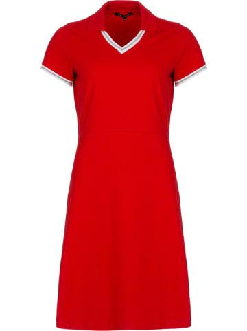"""LA LIGNA Sukienka """"Pique"""" w kolorze czerwonym"""