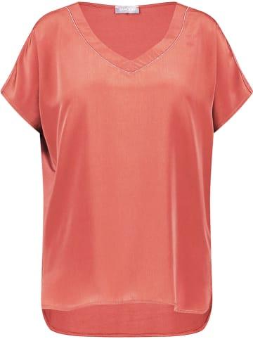 SAMOON Koszulka w kolorze koralowym