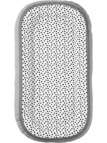 "Done by deer Nestchen ""Happy dots"" in Grau - (B)93 x (H)12 x (T)50 cm"