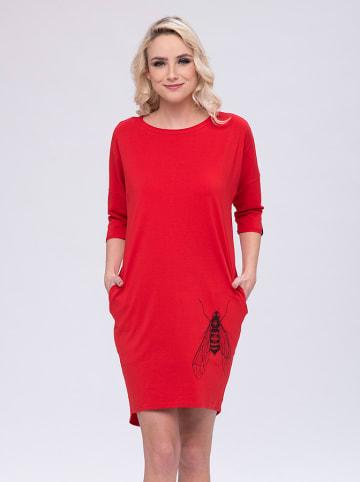 Look Made With Love Sukienka w kolorze czerwonym