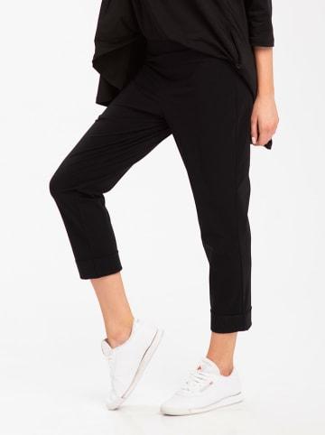 Look Made With Love Spodnie w kolorze czarnym