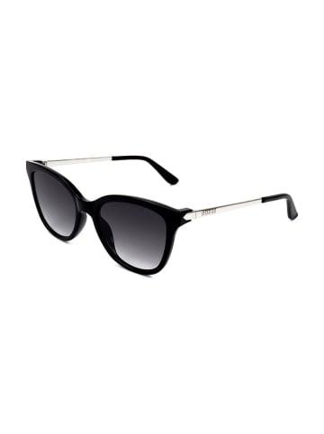 """Guess Okulary przeciwsłoneczne """"GU7567"""" w kolorze czarno-srebrnym"""