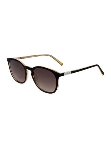 Guess Herren-Sonnenbrille in Dunkelbraun