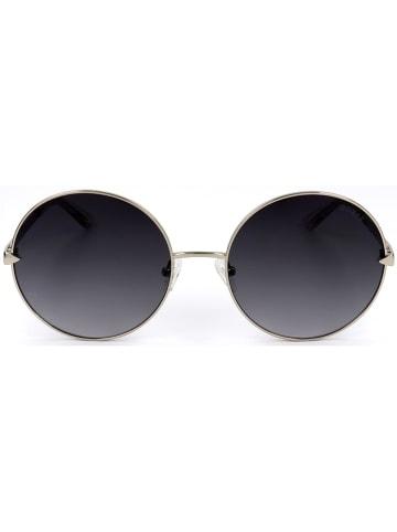 Guess Dameszonnebril zilverkleurig/zwart