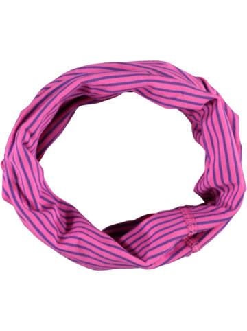 MaxiMo Multifunctionele sjaal roze/paars