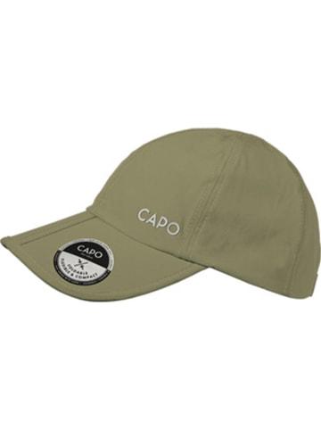 CAPO-authentic headwear Czapka w kolorze khaki