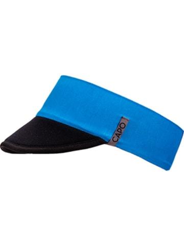 CAPO-authentic headwear Daszek w kolorze niebiesko-czarnym