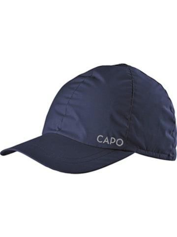 CAPO-authentic headwear Czapka w kolorze granatowym