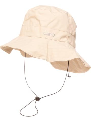 CAPO-authentic headwear Kapelusz w kolorze kremowym