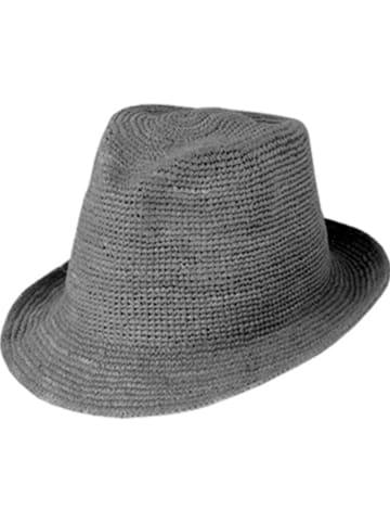 CAPO-authentic headwear Strohhut in Grau