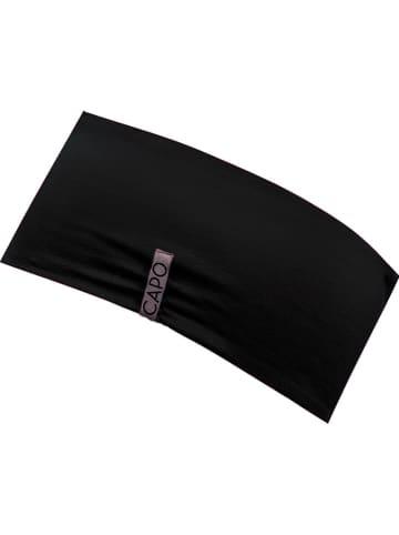 CAPO-authentic headwear Wende-Stirnband in Schwarz