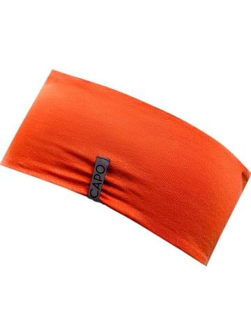 CAPO-authentic headwear Wende-Stirnband in Orange