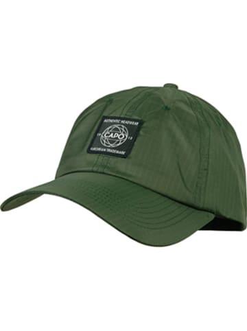 CAPO-authentic headwear Pet olijfgroen