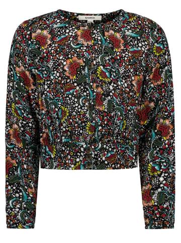 Garcia Koszulka w kolorze czarnym ze wzorem