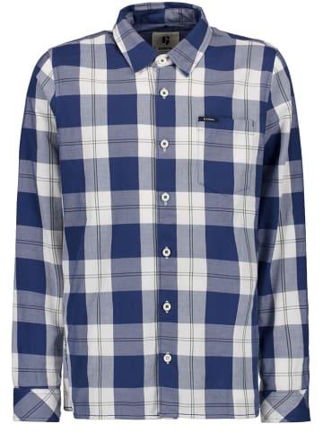 Garcia Koszula w kolorze biało-niebieskim
