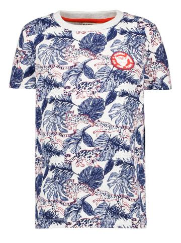 Garcia Shirt blauw/wit