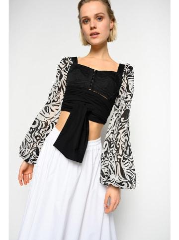 Pinko Bluzka w kolorze czarno-białym