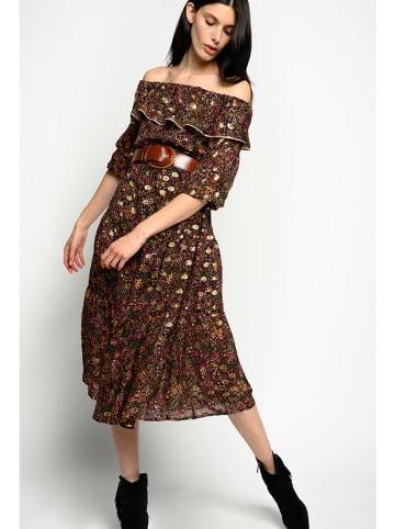 Pinko Sukienka w kolorze brązowym ze wzorem