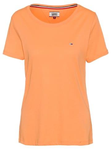 Tommy Hilfiger Koszulka w kolorze pomarańczowym