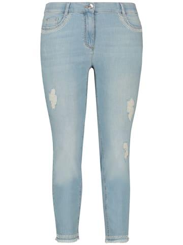 SAMOON Jean - skinny fit - lichtblauw