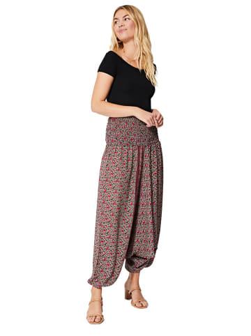 Aller Simplement 3-in-1 broek rood/donkerblauw