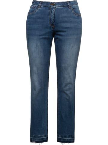 Ulla Popken Jeans - Slim fit -  in Blau