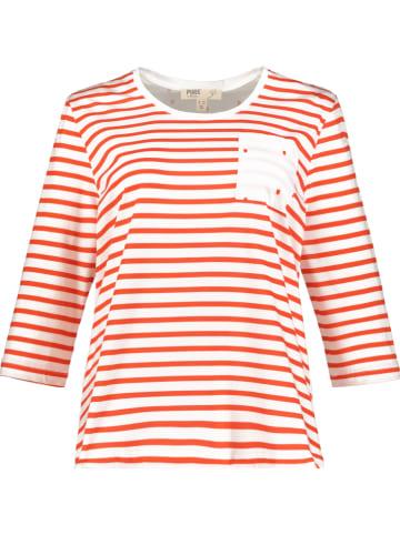 Ulla Popken Shirt rood/wit