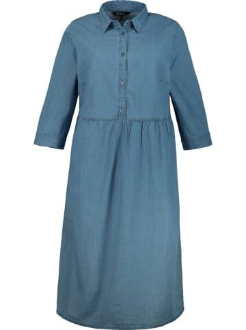 Ulla Popken Kleid in Blau