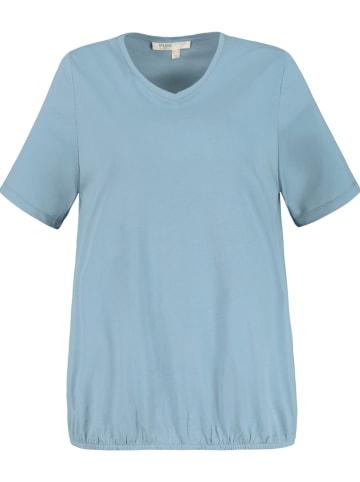 Ulla Popken Shirt lichtblauw