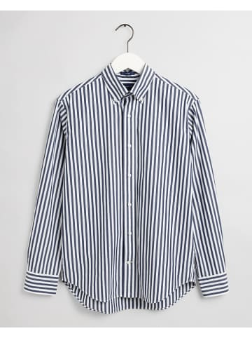Gant Hemd - Regular fit - in Dunkelblau/ Weiß