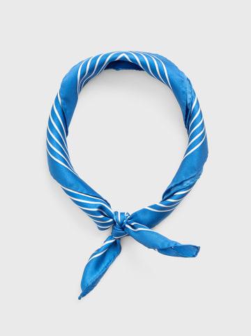 Gant Zijden sjaal blauw