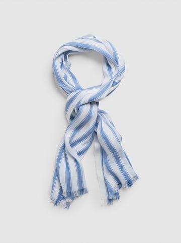 Gant Sjaal blauw/wit