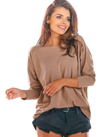 INFINITE YOU Koszulka w kolorze beżowym