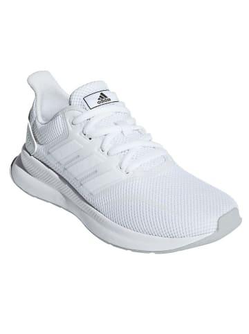"""Adidas Buty """"Runfalcon"""" w kolorze białym do biegania"""