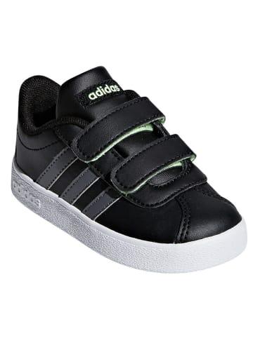 """Adidas Sneakersy """"VL Court 2.0"""" w kolorze czarnym"""