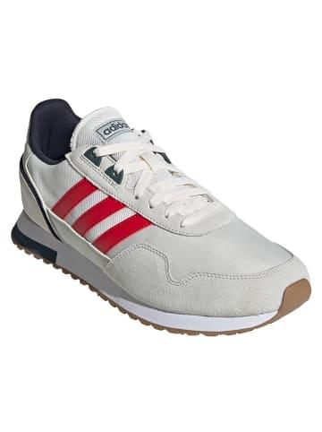 """Adidas Buty sportowe """"8K 2020"""" w kolorze biało-szarym"""