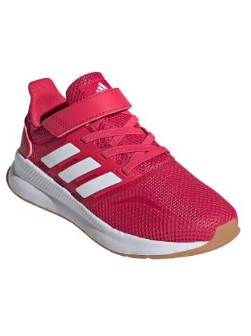 """Adidas Sneakersy """"Runfalcon"""" w kolorze czerwonym"""