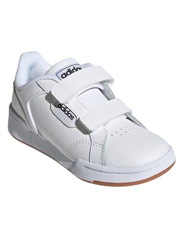 """Adidas Skórzane sneakersy """"Roguera"""" w kolorze białym"""